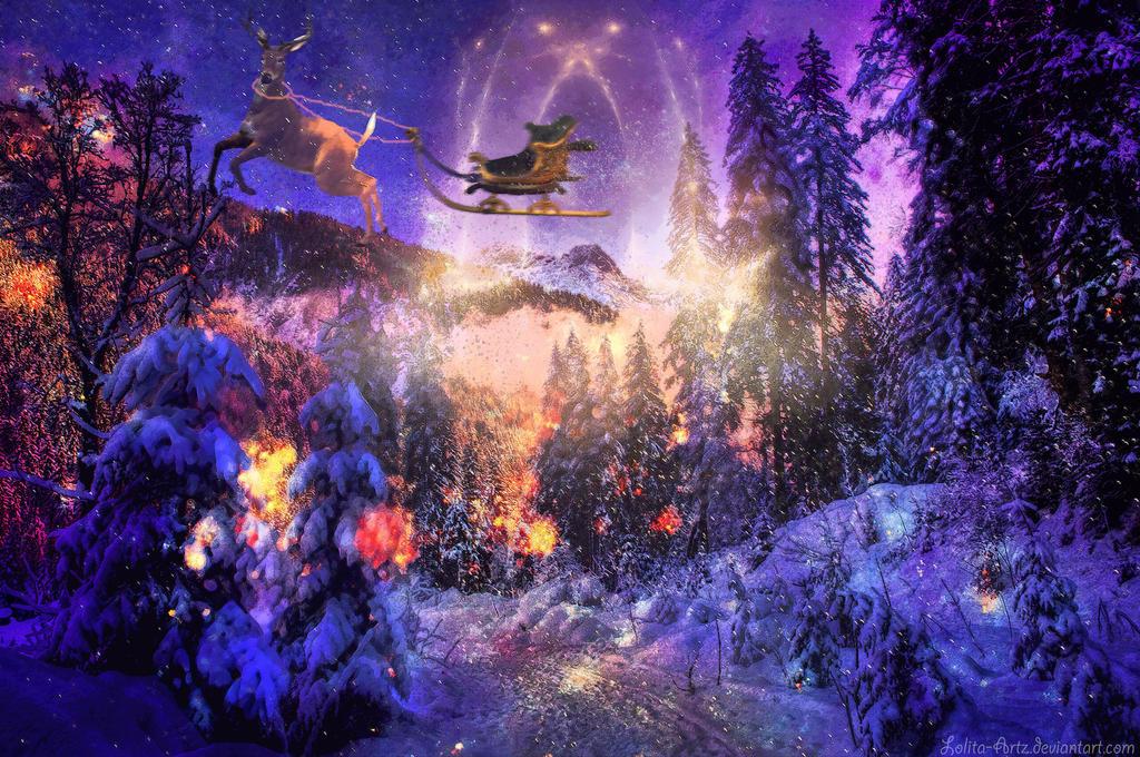 The North Pole Door by Lolita-Artz