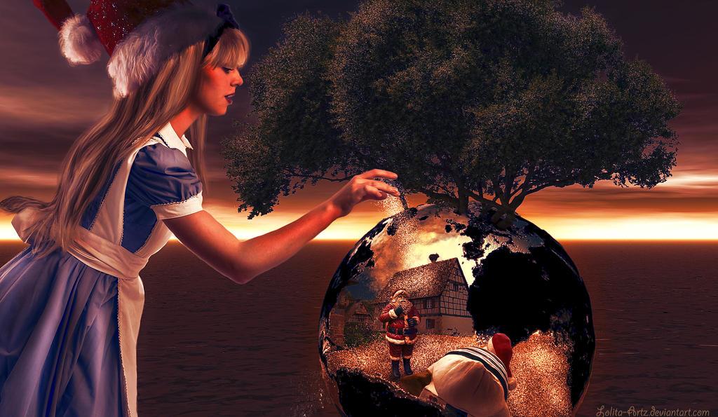 Surreal Xmas by Lolita-Artz