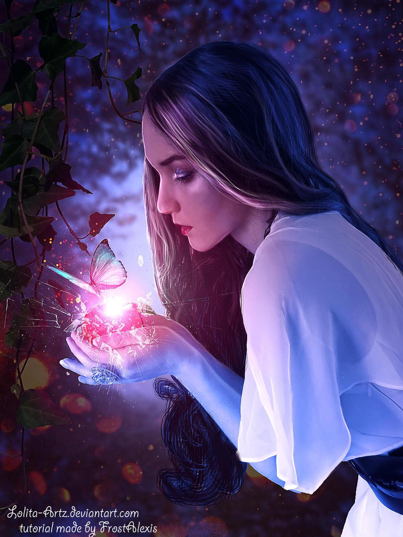 Broken Glass Apple by Lolita-Artz