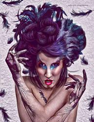 the raven woman