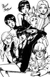 persona 5 phantom thieves