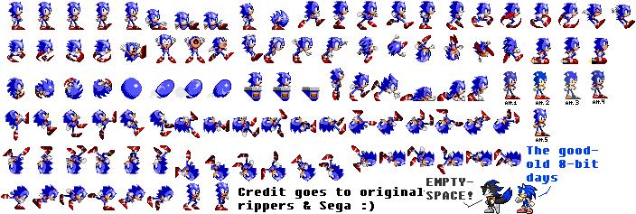 Sonic Chaos Sprites Better Colors By Pixelmuigio44 On Deviantart
