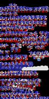 More Classic Sonic Sprites by PixelMuigio44