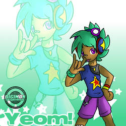 Digimon re:GEN (kinda): yeom yeom way way way by glitchgoat