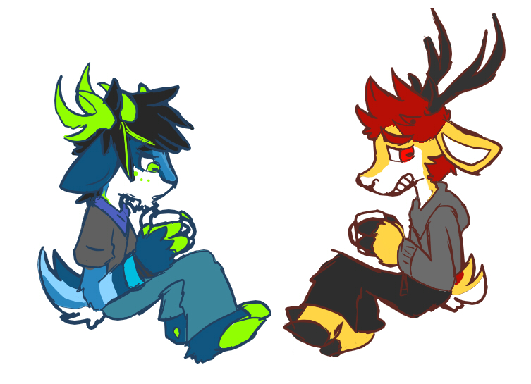 N Ungulate sad ungulate boys having sad