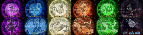 [digimon re:CON] Champion evolutions [pt 1] by glitchgoat