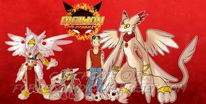 [Digimon re:CON] The Messenger by glitchgoat