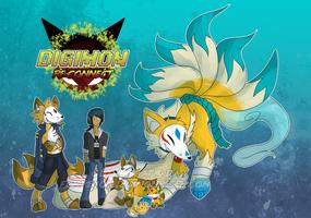 [Digimon re:CON] The Trickster by glitchgoat
