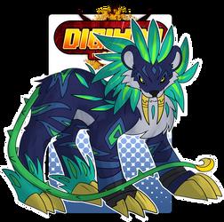 [Digimon re:CON] Liriomon by glitchgoat