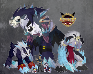 [Digimon re:CON] The Dead by glitchgoat