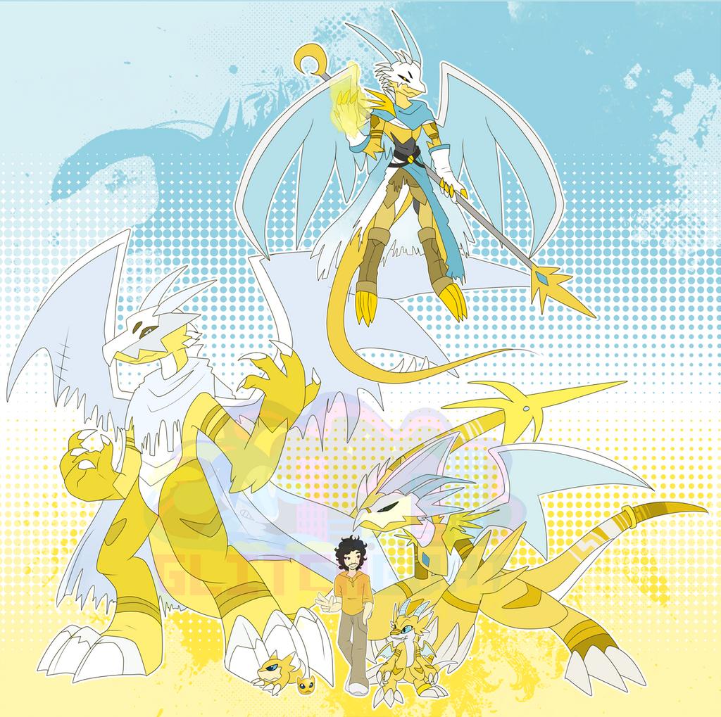 [c] Golden Dragon by glitchgoat