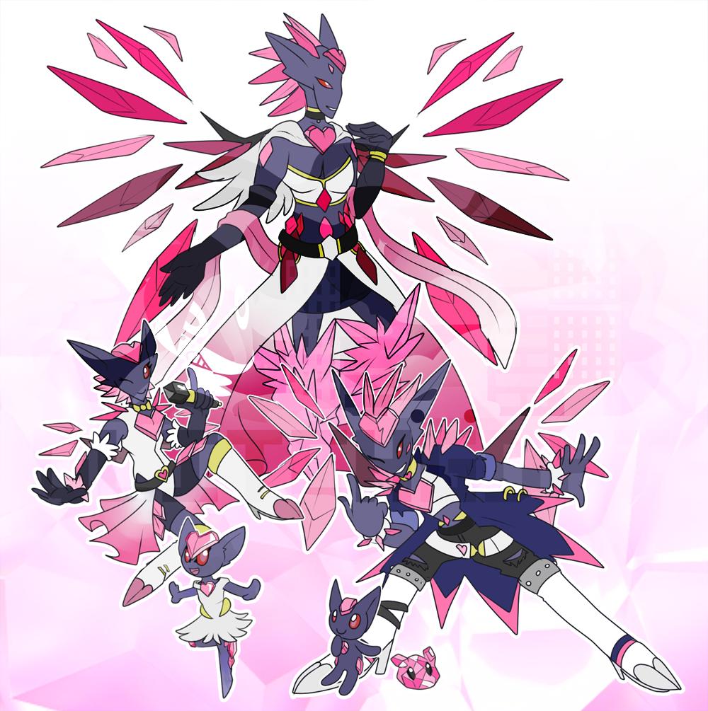 [c] Rock Star [har har] Digimon by glitchgoat