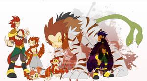 [c] Monkey Digimon by glitchgoat