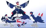 [c] Barn Swallow Digimon