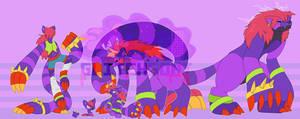 [c] Plush Red Panda Digimon by glitchgoat