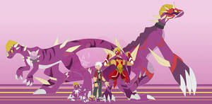 [c] Lucha Dino Digimon