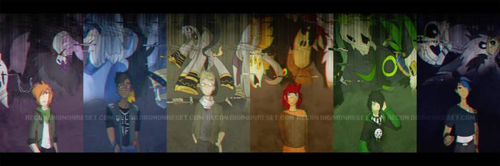 [re:CON] alone running in the dark by glitchgoat