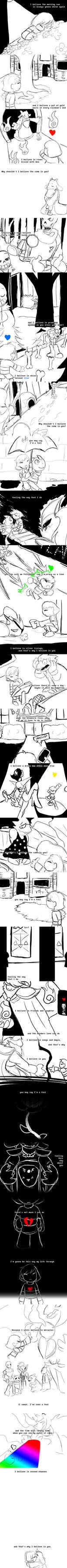 [f] I Believe In U[ndertale]