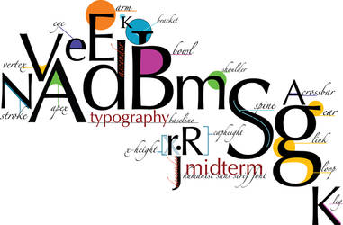 Letterform.Anatomy by indefish
