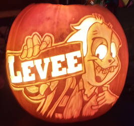 Levee Pumpkin by weirdal