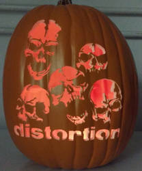 Distortion Pumpkin 2015 by weirdal