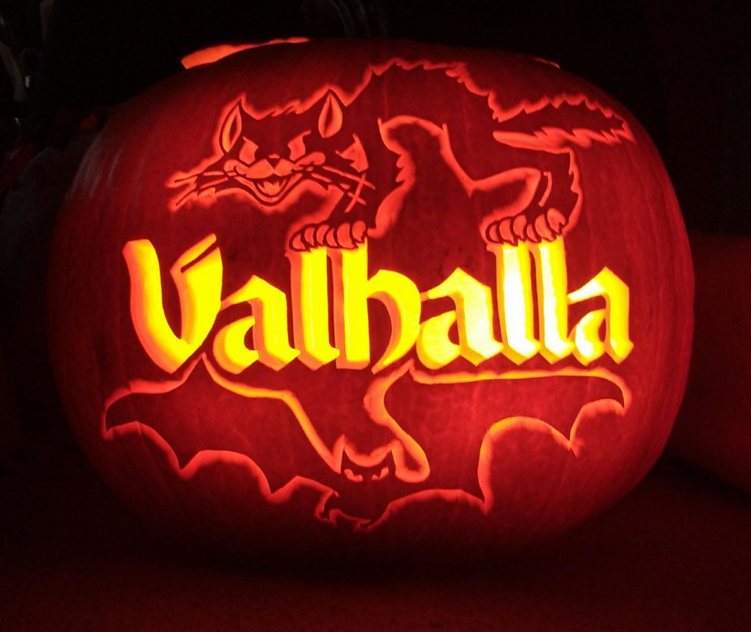Valhalla Pumpkin - 2017 by weirdal