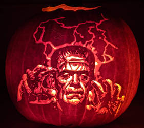 Frankenstein's Monster 2019 Pumpkin