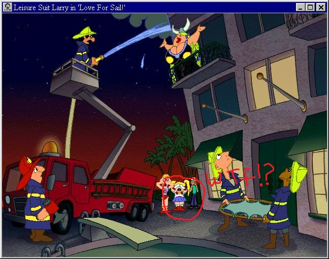 Leisure Suit Larry 7: Love for Sail or WTF!???? by ...