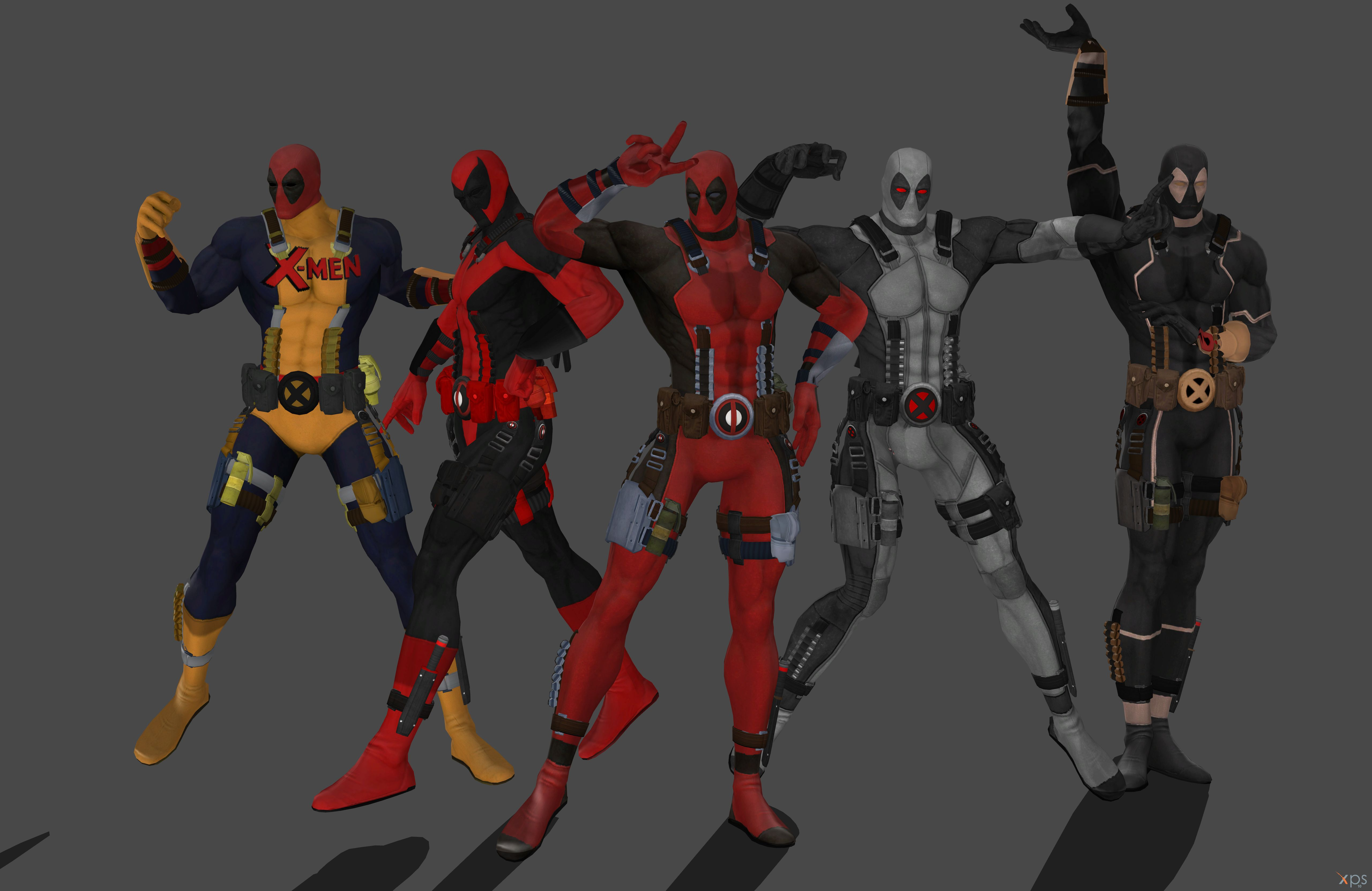 'Deadpool' costume pack by lezisell on DeviantArt
