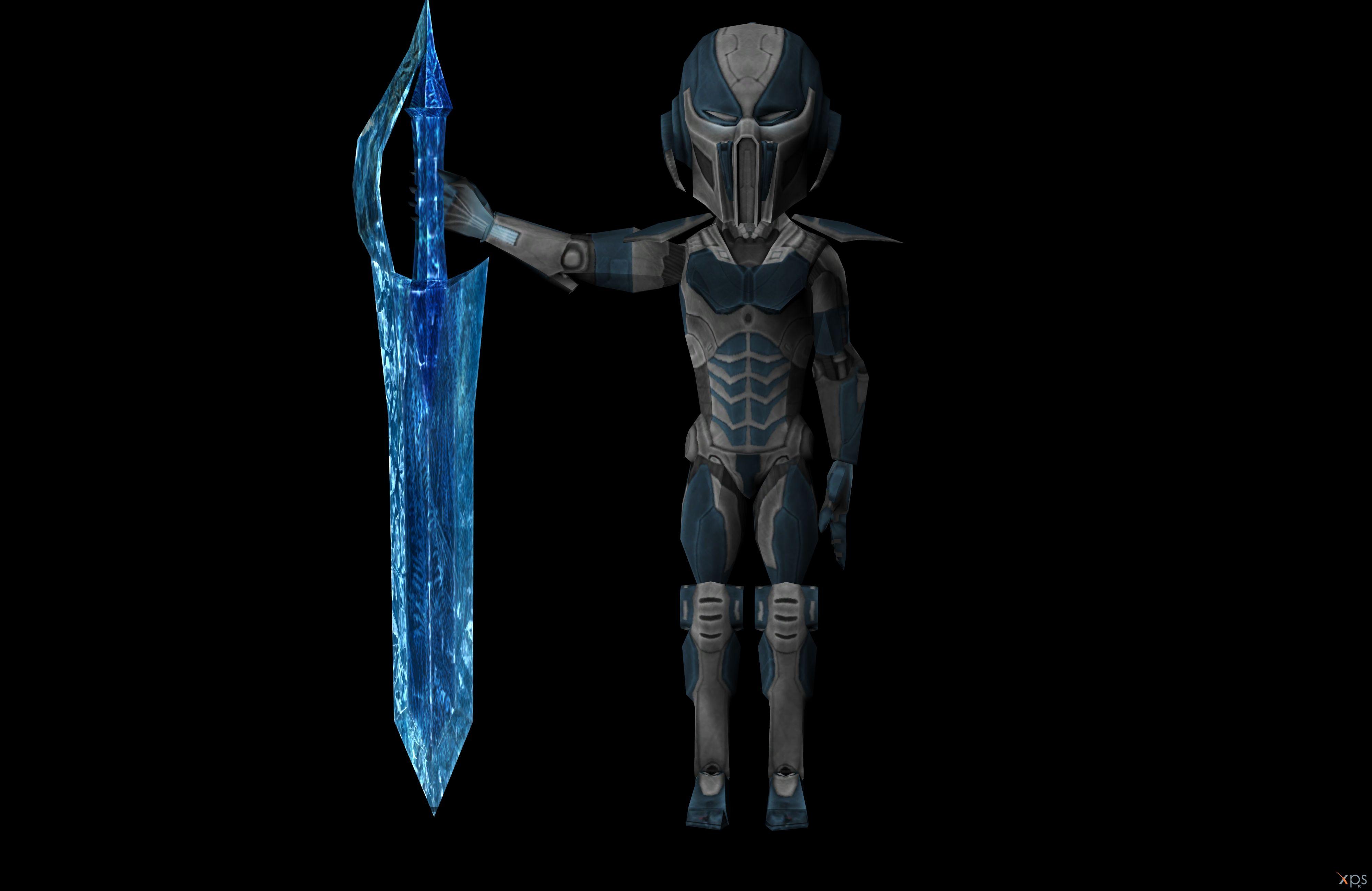 Mortal Kombat Characters Cyber Sub Zero