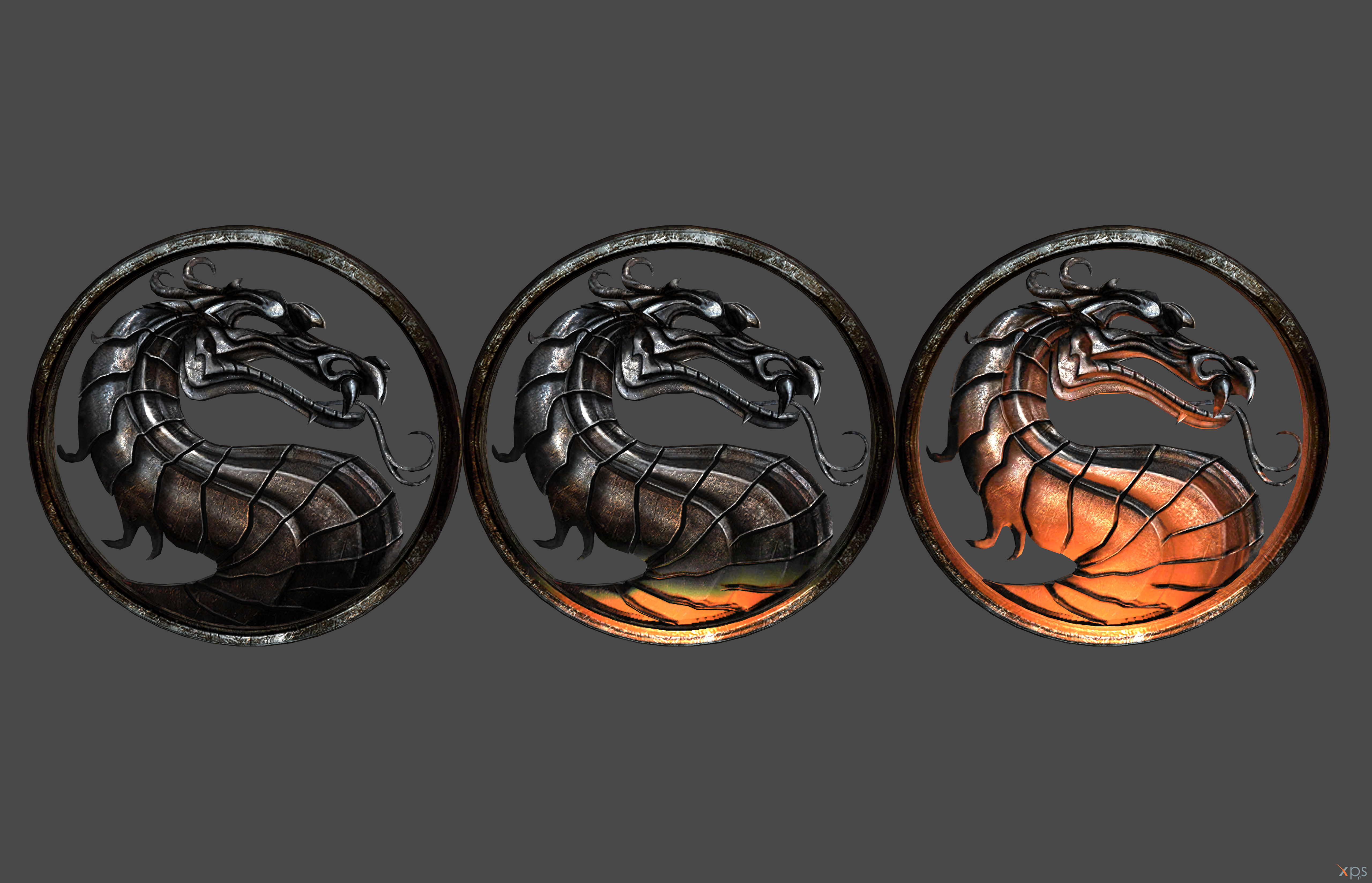 'Mortal Kombat' Dragon Logo XPS ONLY!!!