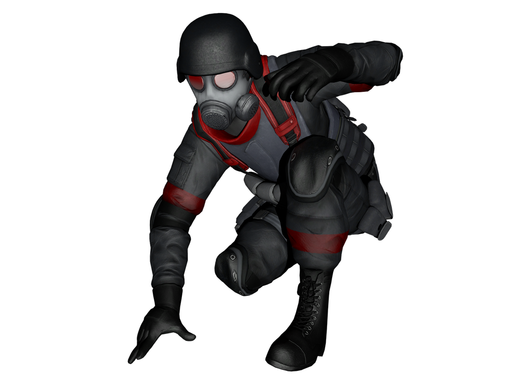 Resident Evil: Operation Raccoon City (моды) _resident_evil__orc__uss_leader_xna_xps_by_lezisell-d6t90uq