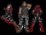 'Borderlands' pack 1 XNA/XPS