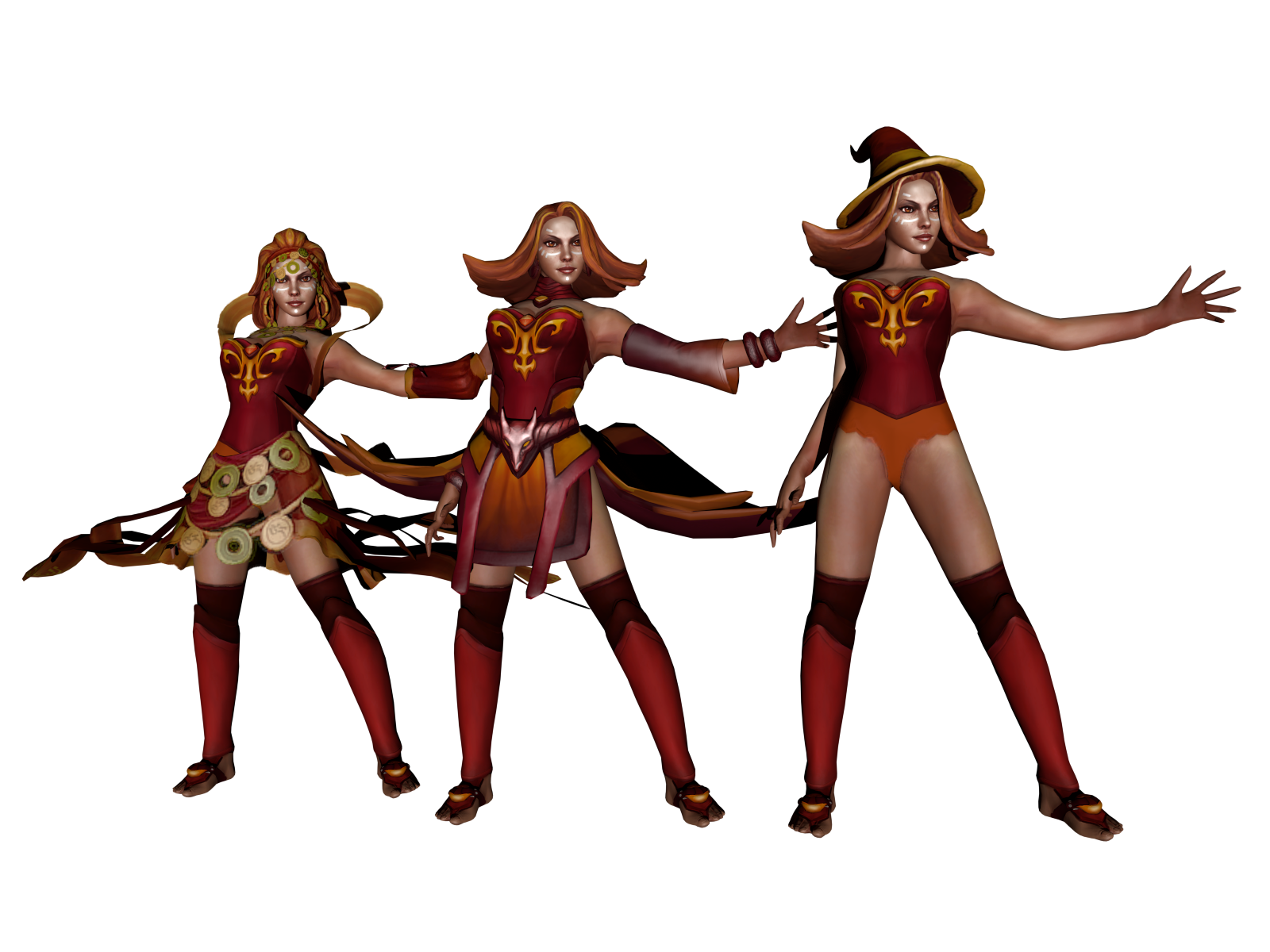 dota 2 lina the slayer xps only by lezisell on deviantart