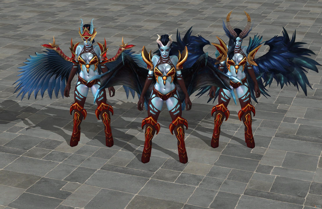 dota 2 queen of pain xps only by lezisell on deviantart