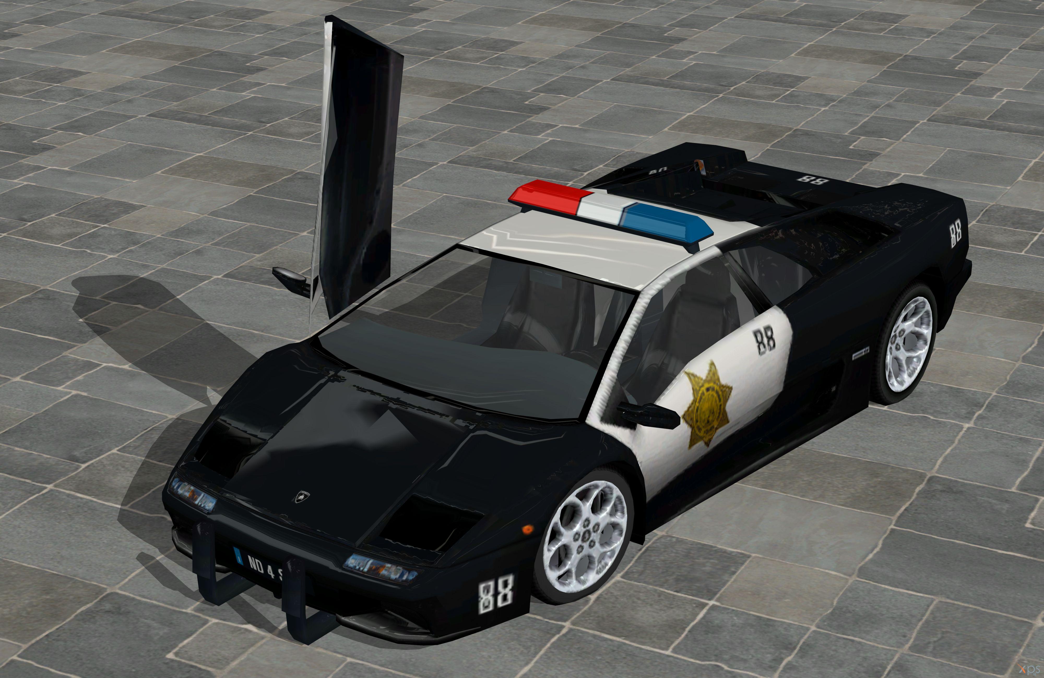 39 nfs hot pursuit 2 39 lamborghini police xps only by lezisell on deviantart. Black Bedroom Furniture Sets. Home Design Ideas