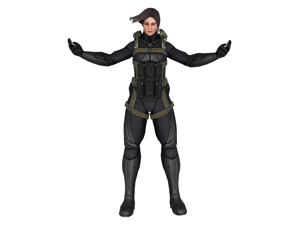 XCOM  Enemy Within  Annette psi-armor XPS ONLY    by lezisellXcom Enemy Unknown Logo Png