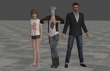 'Life is Strange' Episode 3 Pack 2 XPS ONLY!!! by lezisell