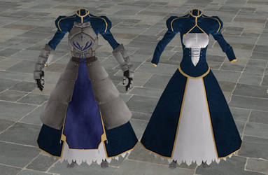 'Fate/Zero' Saber's armor XPS ONLY!!!