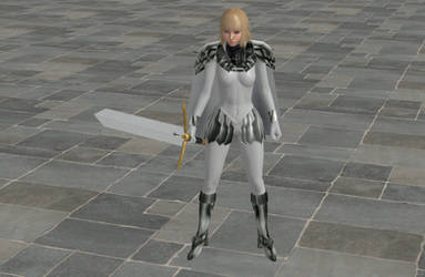 'TES4: Oblivion' Claymore Claire armor XPS ONLY!! by lezisell