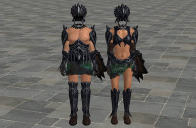 'TES4: Oblivion' Dark Seducer Set XPS ONLY!!! by lezisell