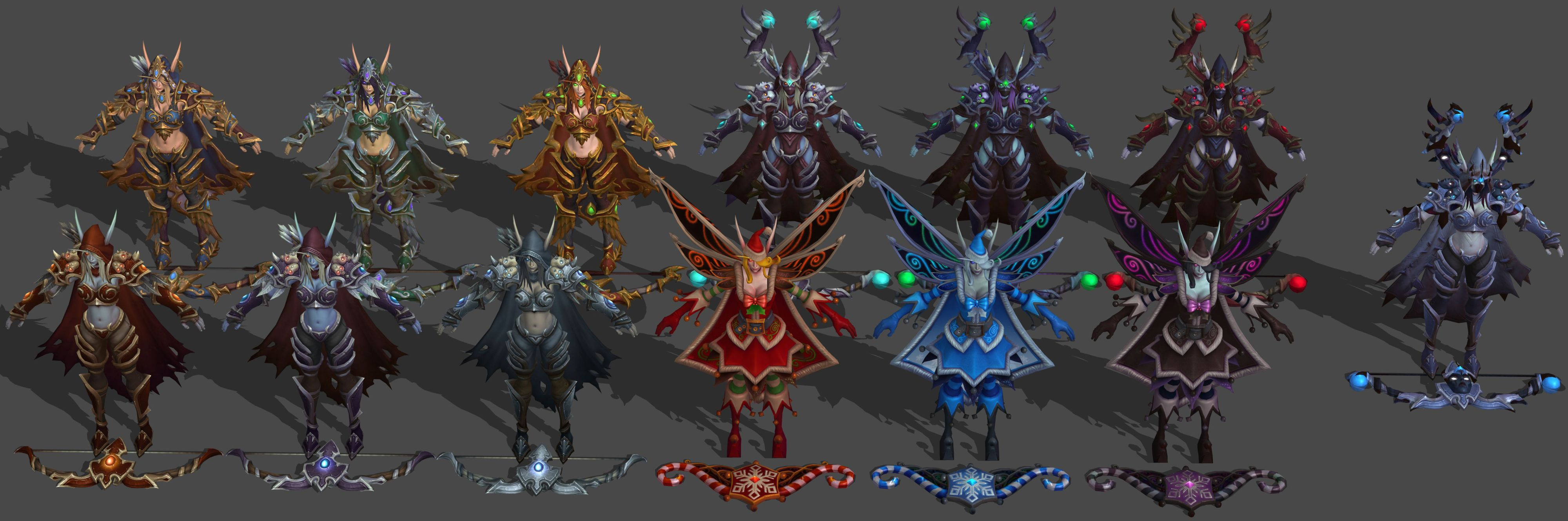 Heroes Of The Storm Sylvanas Pack Xps Only By Lezisell On Deviantart Sylvanas (ranged assassin) patch note history for heroes of the storm (hots). heroes of the storm sylvanas pack xps