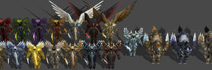'Heroes of the Storm' Tyrael Pack 2.0 XPS ONLY!!!