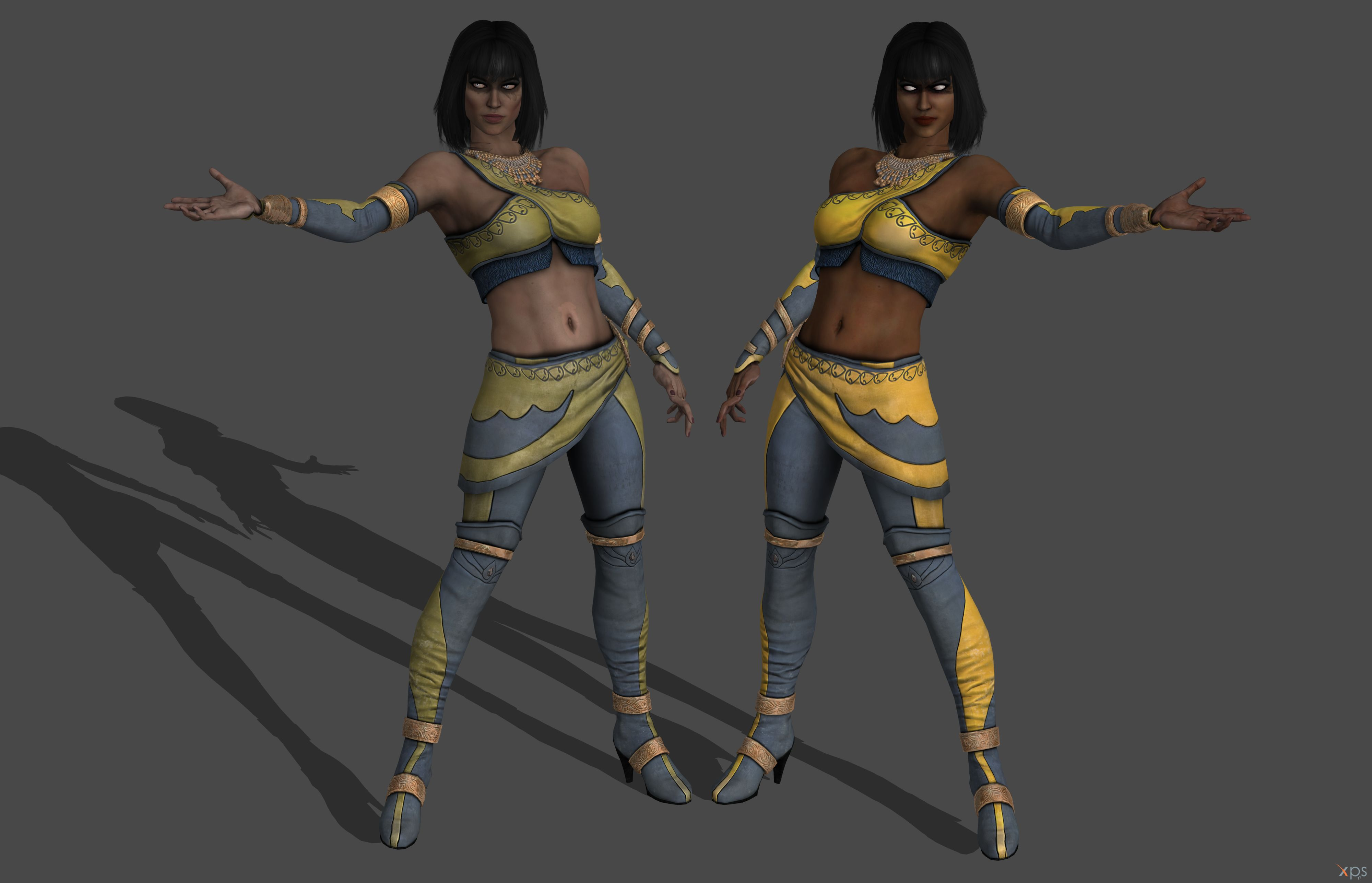 Mortal Kombat Xl Tanya Story Mode Xps Only By Lezisell On