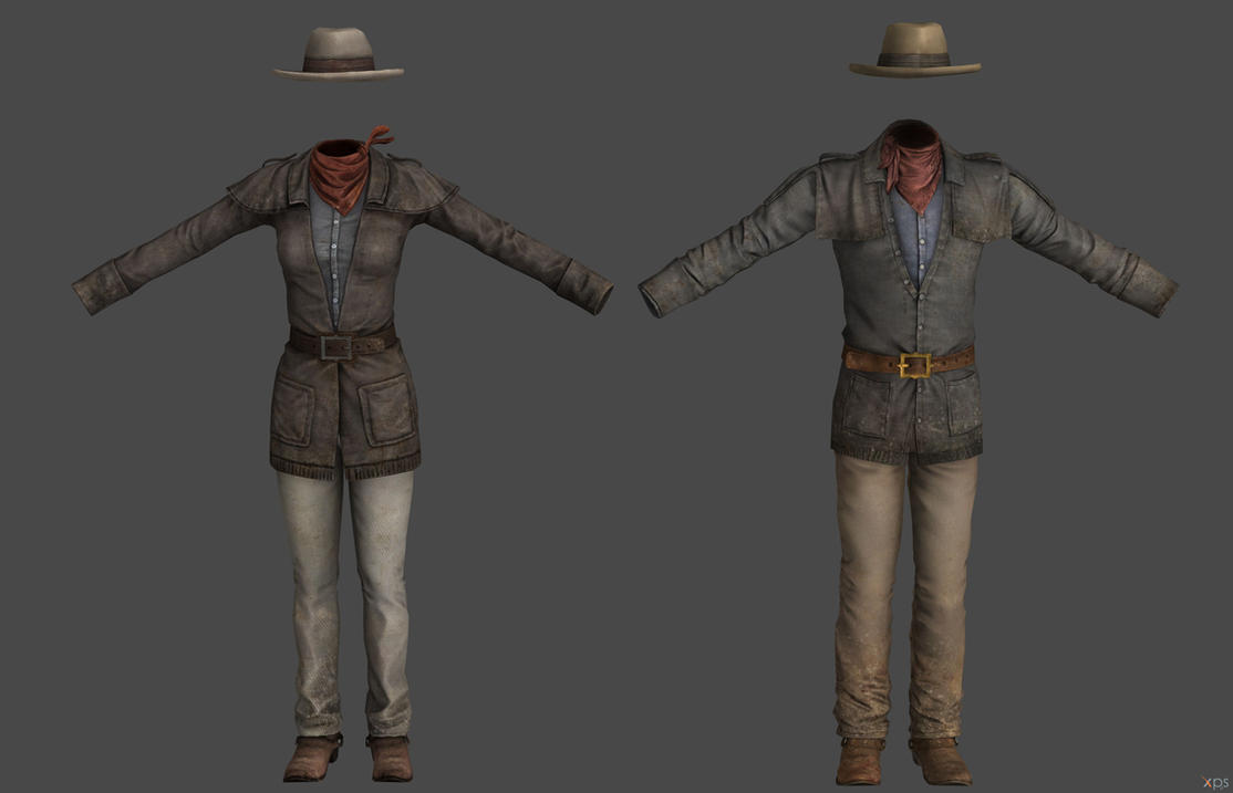 'Fallout 3 Cowboy Set XPS ONLY!!! by lezisell