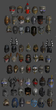 'Chivalry: Medieval Warfare' Helmets pack XPS ONLY