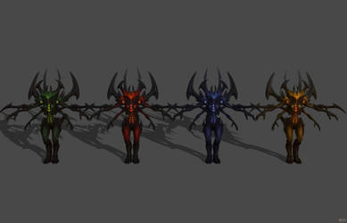'Heroes of the Storm' Diablo - Prime Evil XPS ONLY by lezisell