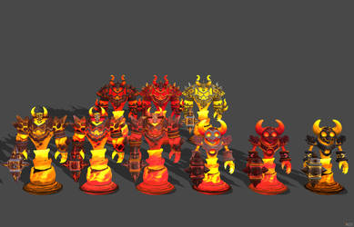 'Heroes of the Storm' Ragnaros XPS ONLY!!! by lezisell