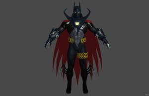 'Batman: Arkham Origins' Batman Knightfall XPS!!! by lezisell