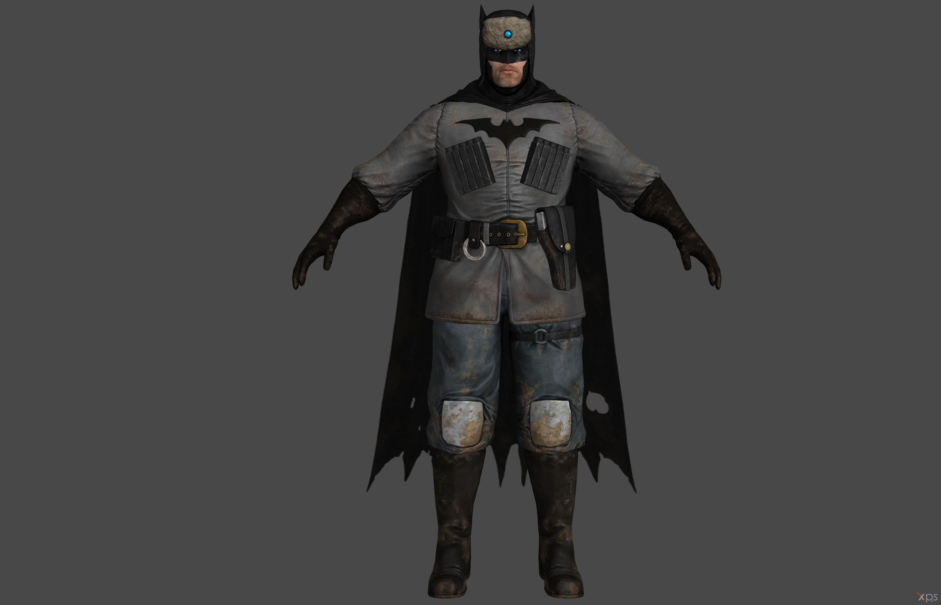 'Batman: Arkham Origins' Batman Red Son XPS ONLY!! by ...